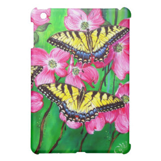 Eastern Tiger Swallowtail Butterflies iPad Mini Covers