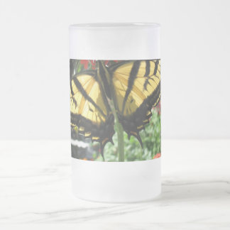Eastern Tiger Swallowtail Butterfly Beer Mug