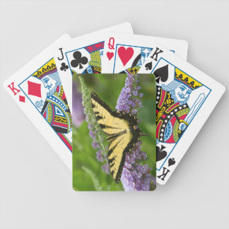Eastern Tiger Swallowtail butterfly Bicycle Playing Cards