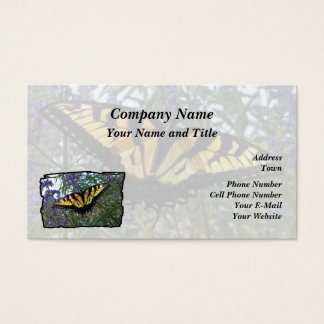 Eastern Tiger Swallowtail Butterfly Business Card