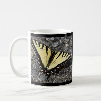 Eastern Tiger Swallowtail Butterfly Classic White Coffee Mug