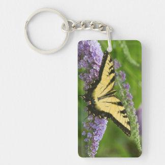 Eastern Tiger Swallowtail butterfly Keychain