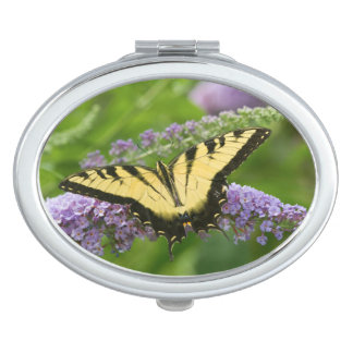 Eastern Tiger Swallowtail butterfly Makeup Mirror