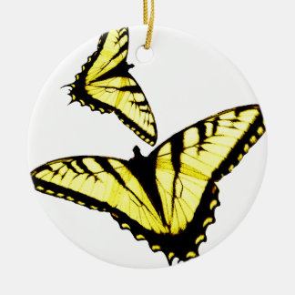 Eastern Tiger Swallowtail Butterfly Photo Ceramic Ornament