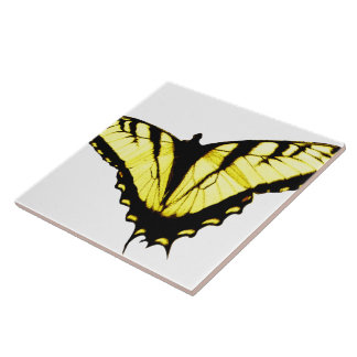 Eastern Tiger Swallowtail Butterfly Photo Ceramic Tile