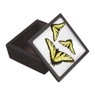 Eastern Tiger Swallowtail Butterfly Photo Jewelry Box
