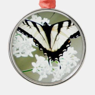 Eastern Tiger Swallowtail Butterfly Photo Metal Ornament