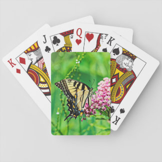 Eastern Tiger Swallowtail Butterfly Playing Cards