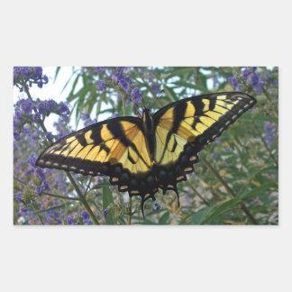Eastern Tiger Swallowtail Butterfly Rectangle Sticker