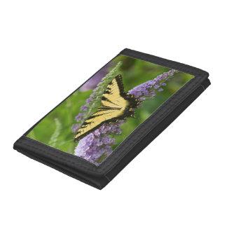 Eastern Tiger Swallowtail butterfly Tri-fold Wallet