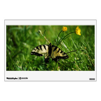 Eastern Tiger Swallowtail Butterfly Wall Decal