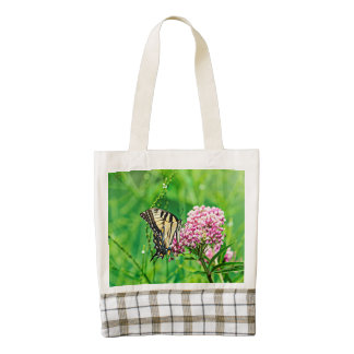 Eastern Tiger Swallowtail Butterfly Zazzle HEART Tote Bag