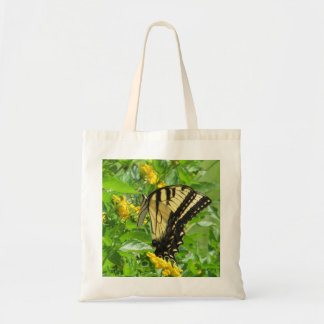 Eastern Tiger Swallowtail Cloth / Fabric Tote Bags