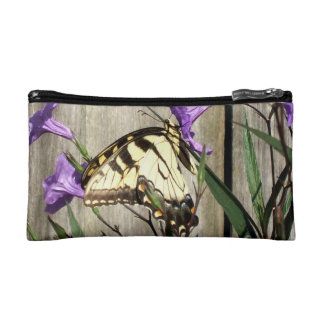 Eastern Tiger Swallowtail in Mexican Petunias Cosmetic Bag