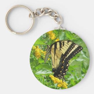 Eastern Tiger Swallowtail Key Ring
