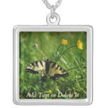 Eastern Tiger Swallowtail necklace