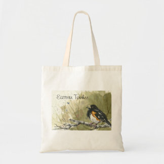 Eastern Towhee Tote Bag