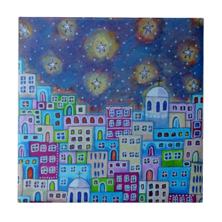 Eastern Town Ceramic Tile