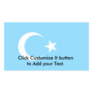 Eastern Turkistan, Democratic Republic of the Cong Double-Sided Standard Business Cards (Pack Of 100)