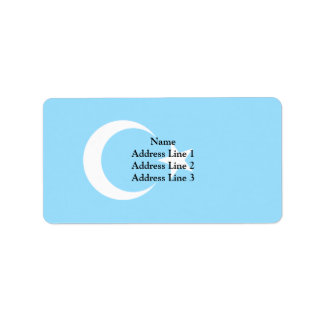 Eastern Turkistan, Democratic Republic of the Cong Address Label