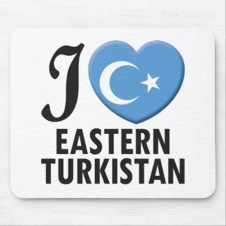 Eastern Turkistan Love Mouse Pad