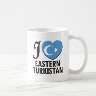 Eastern Turkistan Love Basic White Mug