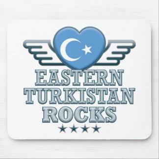 Eastern Turkistan Rocks v2 Mouse Pad
