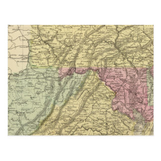 Eastern US Postcard