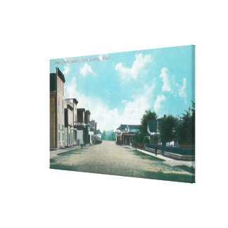 Eastern View from Main Street Canvas Print