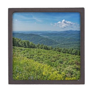 Eastern View from Shenandoah National Park Jewelry Box