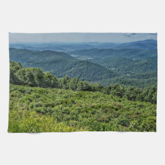 Eastern View from Shenandoah National Park Towel