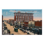 Eastern View of Central AvenueGreat Falls, MT Poster