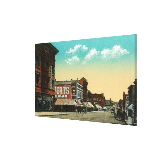 Eastern View of Grand Avenue Canvas Print