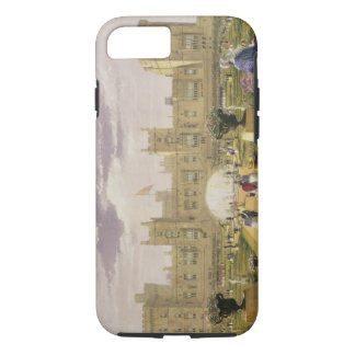 Eastern view of the Castle and Garden, Windsor Cas iPhone 8/7 Case