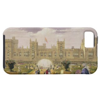 Eastern view of the Castle and Garden, Windsor Cas iPhone SE/5/5s Case