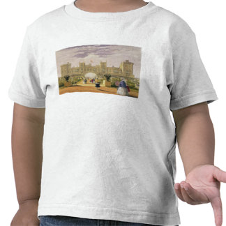 Eastern view of the Castle and Garden Windsor Cas Shirts