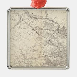 Eastern Virginia Metal Ornament