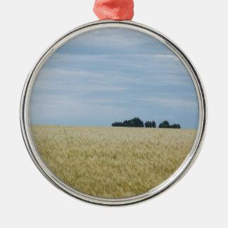 Eastern Washington Wheat Field Metal Ornament
