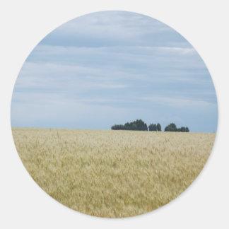 Eastern Washington Wheat Field Sticker