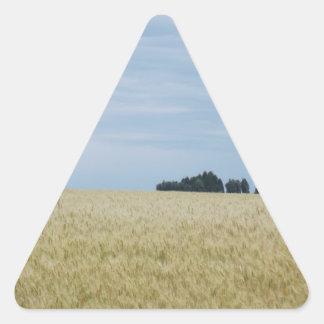 Eastern Washington Wheat Field Triangle Sticker
