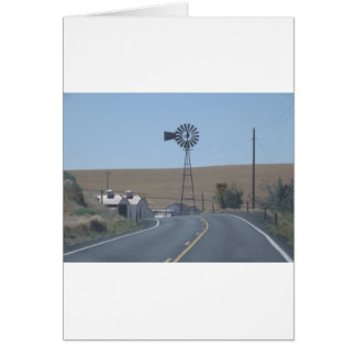 Eastern Washington Windmill Card