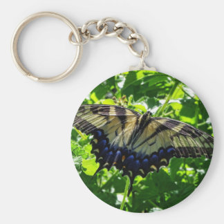 Eastern Yellow Swallowtail Butterfly Keychain