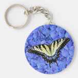 Eastern Yellow Tiger Swallowtail Butterfly T-Shirt Keychains