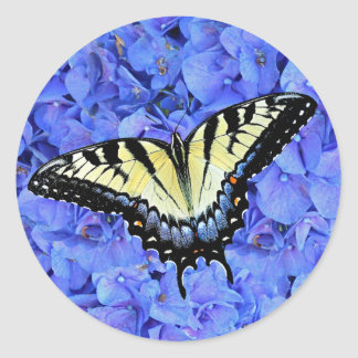 Eastern Yellow Tiger Swallowtail Butterfly T-Shirt Stickers