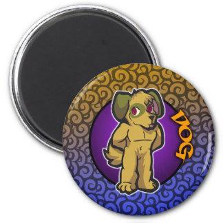 Eastern Zodiac - Dog Magnet