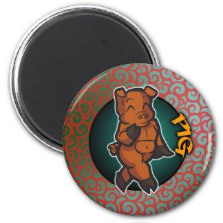 Eastern Zodiac - Pig Magnet
