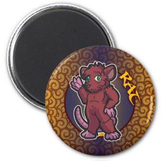 Eastern Zodiac - Rat Magnet