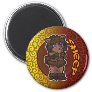 Eastern Zodiac - Sheep Magnet