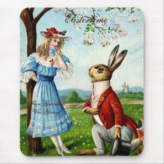 Eastertime cuando la abuela era joven tapete de ratones