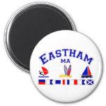 Eastham MA Signal Flag Refrigerator Magnet
